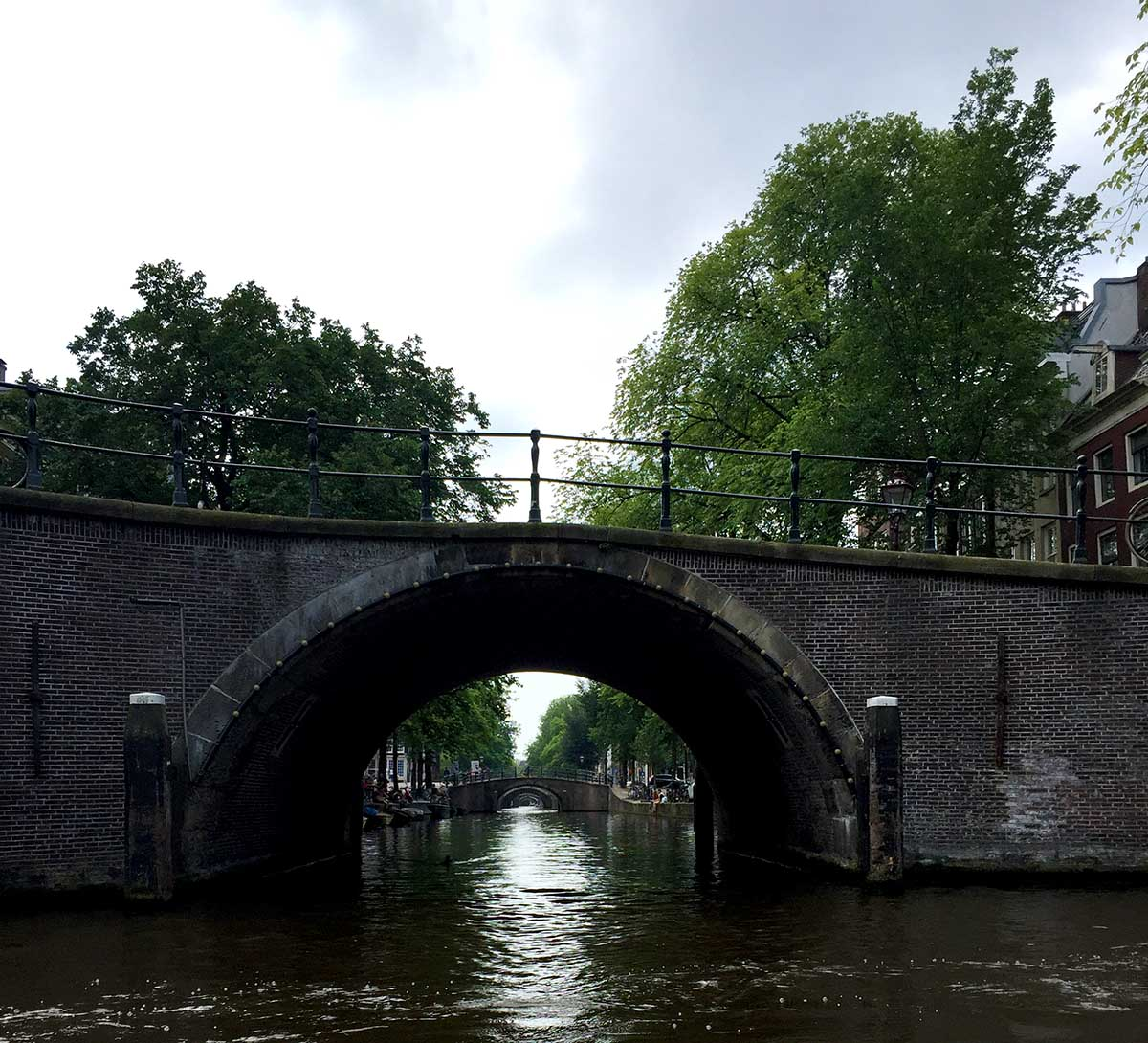 Amsterdam bridge of 7 bridges