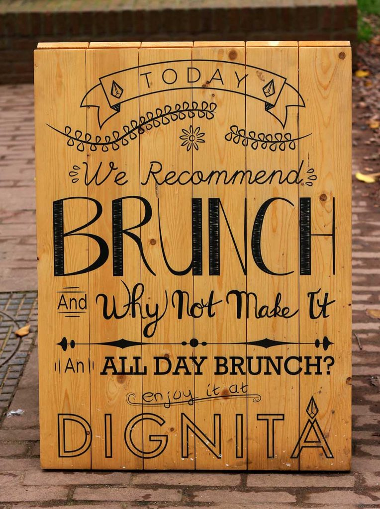 Dignita - all day brunch - eat well while doing good - Amsterdam