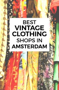 190ca642efb BEST VINTAGE CLOTHING SHOPPING IN AMSTERDAM - cute shops + markets