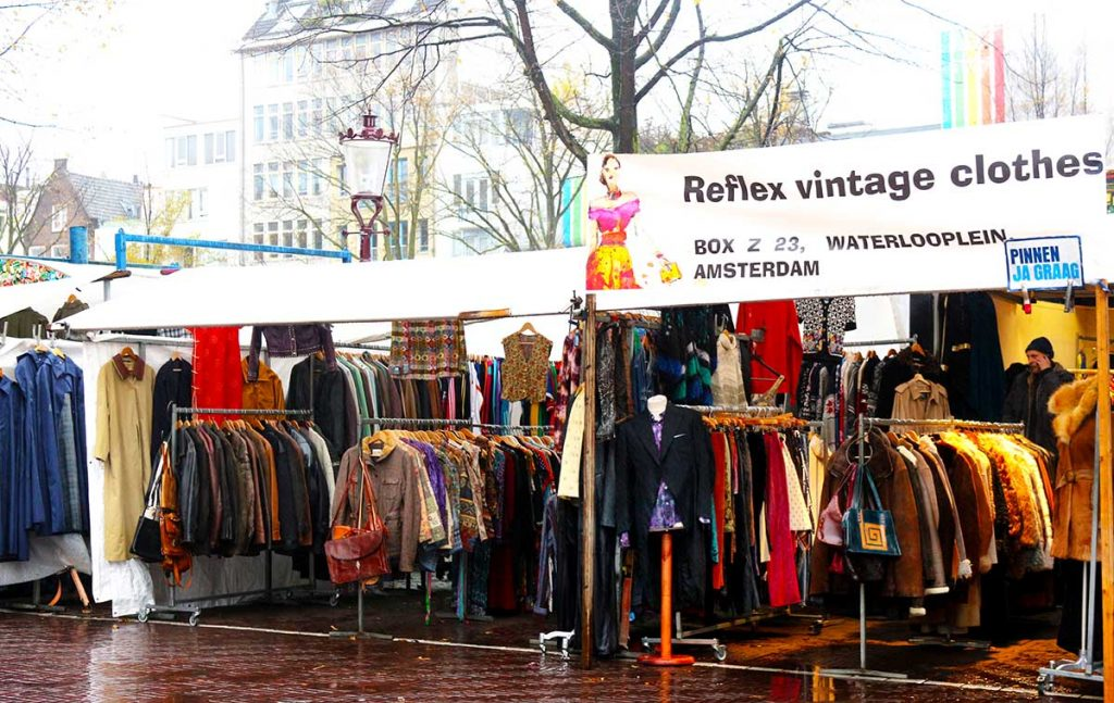 best vintage clothing shopping in amsterdam shops markets