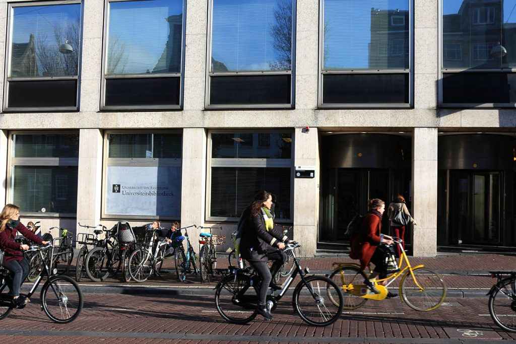 Coolest Libraries in Amsterdam- UvA bibliotheek