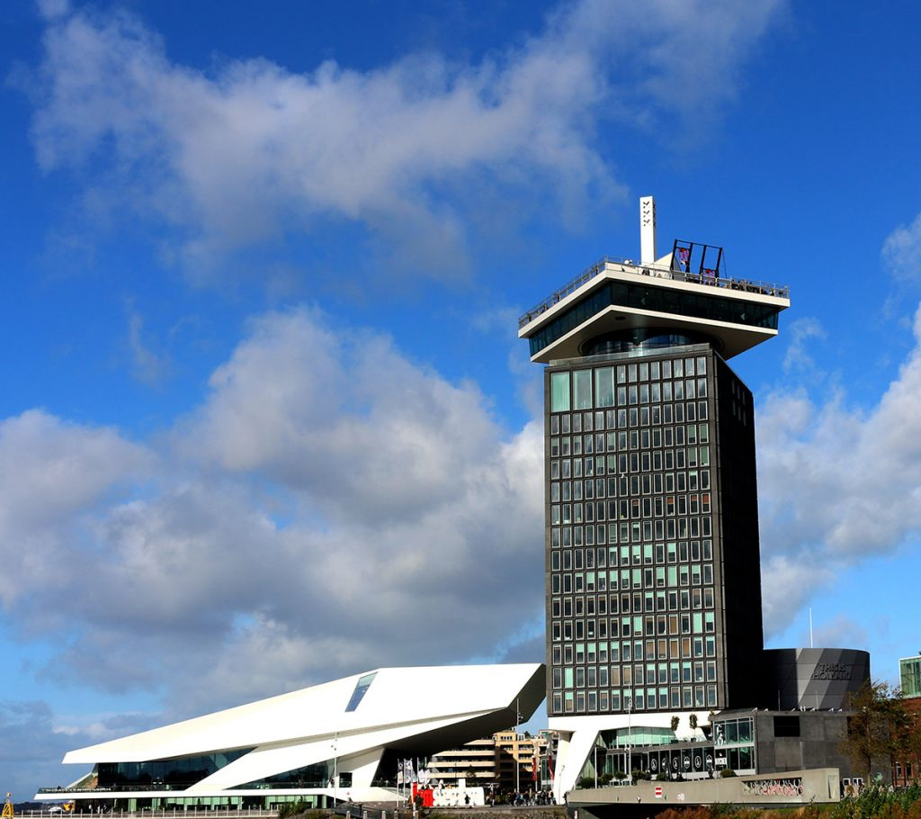 Coolest Libraries in Amsterdam- eye museum toren