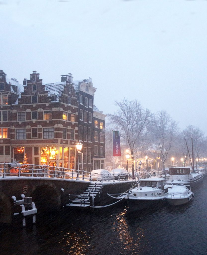 AMSTERDAM: WINTER WONDERLAND