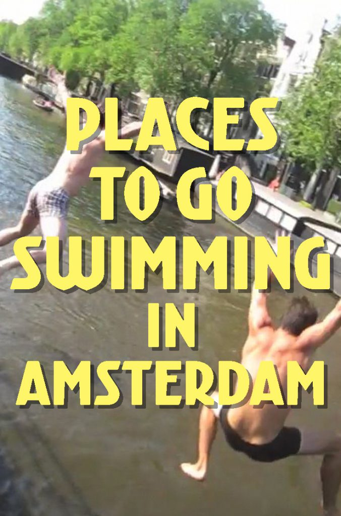 Places to go swimming in Amsterdam