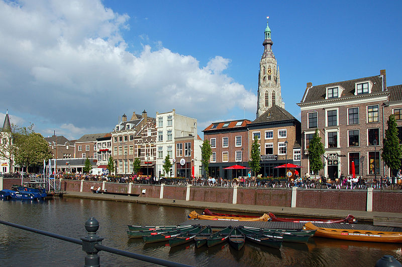 10 Day Trips from Amsterdam in Fall - fun places to go in Holland in Autumn: Breda