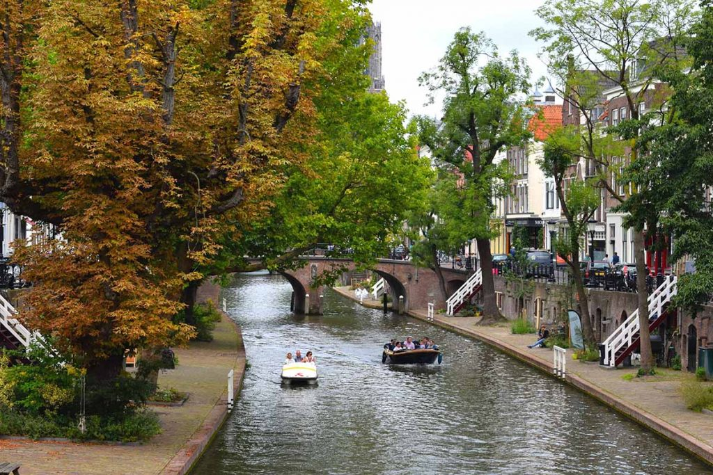 10 Day Trips from Amsterdam in Fall - fun places to go in Holland in Autumn: Utrecht